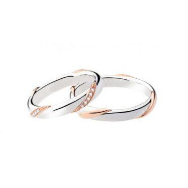 fedi matrimoniali POLELLO oro e diamanti kt.0.10