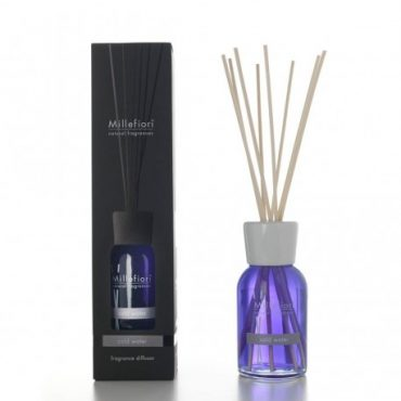 Diffusore ambiente con bastoncini Millefiori, fragranza Cold Water 250ML